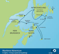 map of canada east coast canada s atlantic provinces reinvented with one expeditions