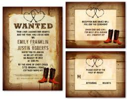 western wedding invitations cowboy wedding invitations template best template collection