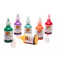 amazon com i love to create scribbles 3d fabric paint 1oz 20 pkg