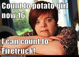 Potato Girl Meme - count to potato girl now 16
