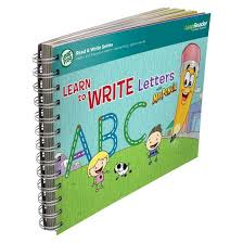 leapfrog leapreader book learn to write letters with mr