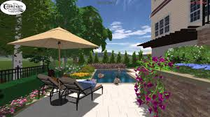 swimming pool design on a steep slope youtube