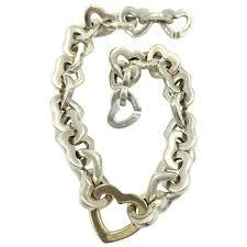 tiffany heart bracelet sterling silver images Tiffany 39 s heart link bracelet sterling silver 18k gold eye candy jpg