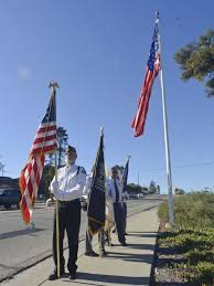 Flag Law American Flag Flies Near Highway In Orcutt To Celebrate New State