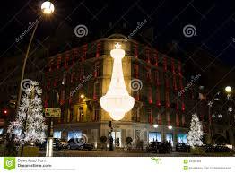 Paris Decorations The Christmas Decorations At Boutique Dior Paris France