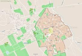 louisiana map city names marrakech map road names directions plan showing major