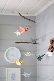 site deco bebe 16 idées d origami pour une chambre de bébé originale