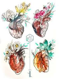 que te zurzan hearts pinterest anatomy tattoo and drawings