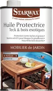 Huile Pour Ipe Huile Protectrice Teck Et Bois Exotiques Starwax Bidon 500 Ml