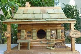 birdhouse home decor log cabin birdhouse better bird accommodation the latest home