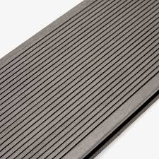 composite decking board stone grey hyperion decking u2013 envirobuild
