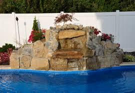 backyard waterfalls diy water gardening features archive tussey