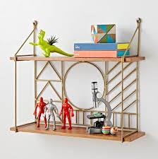 wondrous ideas kids wall shelves home designing