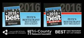 family memorials of canton wecome pete s family restaurant in canton ohio casual dining