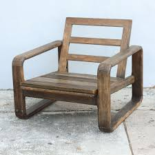Teak Wood Furniture Vintage Teak And Reclaimed Wood Chairs 1950s Usa For Sale At 1stdibs