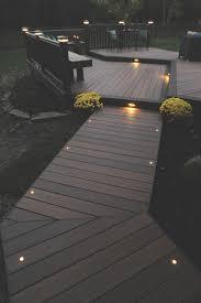 Patio Deck Lighting Ideas Retractable Landscape Light And Best 25 Deck Lighting Ideas On