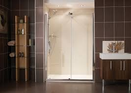 Kohler Frameless Shower Doors by Bathroom Lowes Shower Doors Pivot Bathtub Shower Doors Lowes