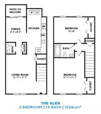 3 Bedroom Apartments In Baltimore The Glens At Diamond Ridge Apartments Baltimore Md Apartments