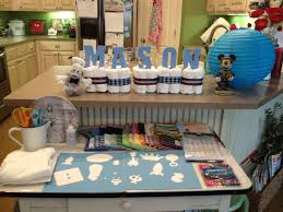Mickey Mouse Table by Mickey Mouse Inspired Baby Shower Easy Peasy Pleasy