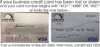 Card One Banking Business Account Card Services Union State Bank