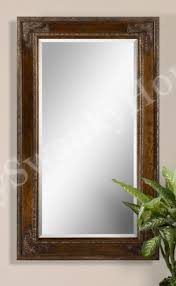 oversize 73 ornate wood wall mirror home kitchen