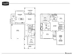 the reagan floor plans goodall homes