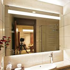 bathroom mirror light with shaver socket