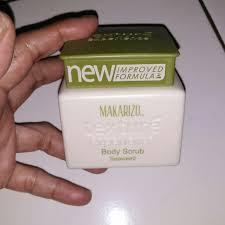 Scrub Makarizo awaltahun makarizo te scrub seaweed disc 50 rp 22 000 u p