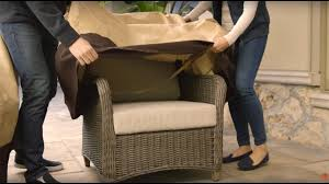 How To Fix Wicker Patio Furniture - how to protect your patio furniture 3 steps youtube
