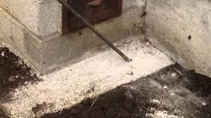 chimney foundation repair footing sinking underpin u0026 wall dowels