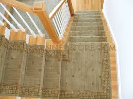 Stairs With Landing by Single Landing Stair Runner Installations Stair Runner Store Blog