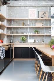 rangement mural cuisine cuisines rangement mural cuisine moderne stockage ouvert idées