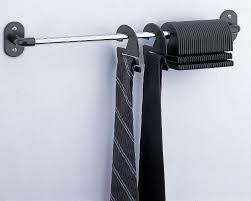Ideas For Wall Mounted Tie Rack Design Wall Mounted Tie Rack Home Designs Insight Best Functional