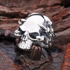 imagenes de calaveras hombres 925 anillos de plata esterlina para para hombre tailandés anillos de
