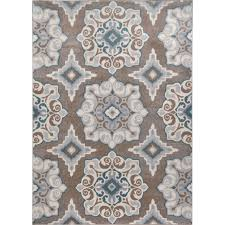 Taupe Area Rug Cerulean Blue Taupe Area Rug Teal Area Rug Taupe And