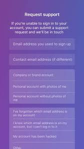email instagram support how to recover your gmail facebook or yahoo account