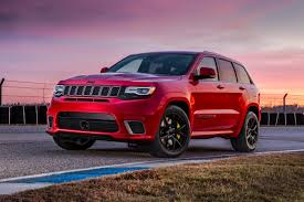 jeep rally car jeep grand cherokee trackhawk 2018 price and specification