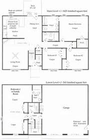 split entry floor plans plan 8963ah split level home plan living rooms laundry closet