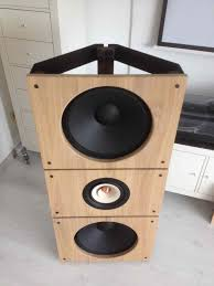 Beautiful Speakers Pureaudio Project Trio15 Tb Open Baffle Speakers Ole After Upgrade