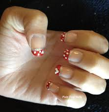 guest post from pixie dust nails minnie mouse nails for your