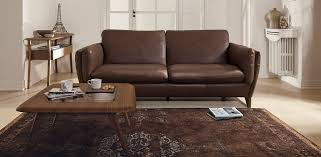 Natuzzi Leather Sofa by Mario Natuzzi Editions