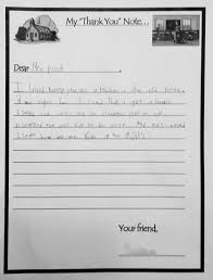 letters from 2nd graders