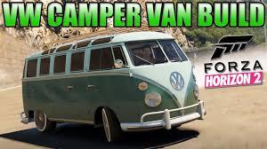 minivan volkswagen hippie forza horizon 2 custom cars 2 vw camper van cool drifting