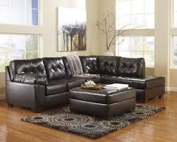 Chocolate Brown Living Room Sets Buy Alliston Durablend Chocolate Living Room Set By Millennium