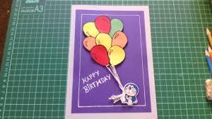 handmade birthday cards youtube