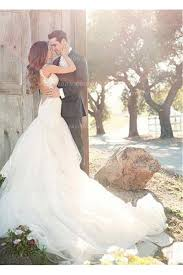 wedding dresses and bridal gowns for showing femininity from