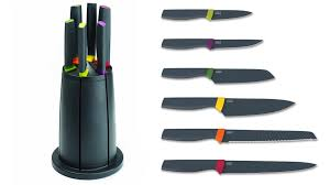 kitchen kitchen knife sets intended for top boocon brand black