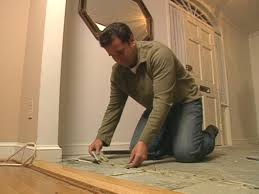 Can You Seal A Laminate Floor How To Border And Seal A Slate Floor How Tos Diy