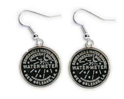 new orleans water meter jewelry new orleans water meter jewelry etsy