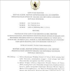 skb 3 menteri libur nasional dan cuti bersama tahun 2017 situs